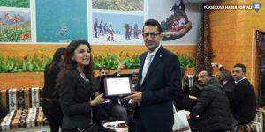 EMİTT Fuarından Hakkari'ye 'en iyi stant' ödülü