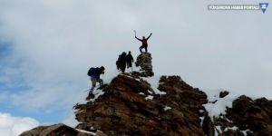 3100 rakımlı Abdurrezzak Dağı'na tırmanış