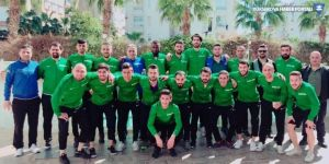 Hakkarizapspor Antalya'da kampa girdi
