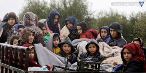 'Afrin bölgesini 100 binden fazla sivil terk etti'
