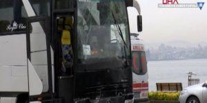 Hakkari'den İstanbul'a giden öğrenciler kaza geçirdi