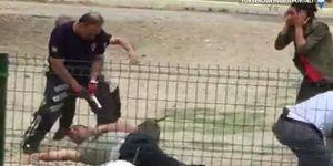 Polise saldıran köpeğe 8 kurşun