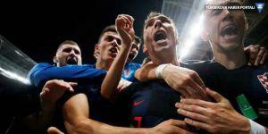 Hırvatistan'dan tarihi galibiyet: İngiltere'yi geçip finale kaldı