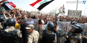 Irak'ta eylemler devam ediyor