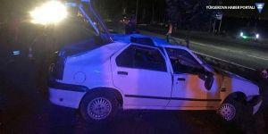 Otomobil takla attı: 4'ü çocuk 5 yaralı