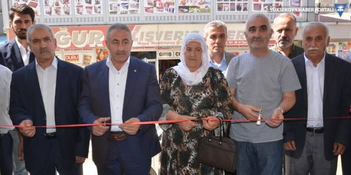 Yüksekova'da yeni iş yeri açılışı