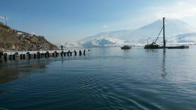 Akdamar Adasının yeni iskelesi tamamlandı