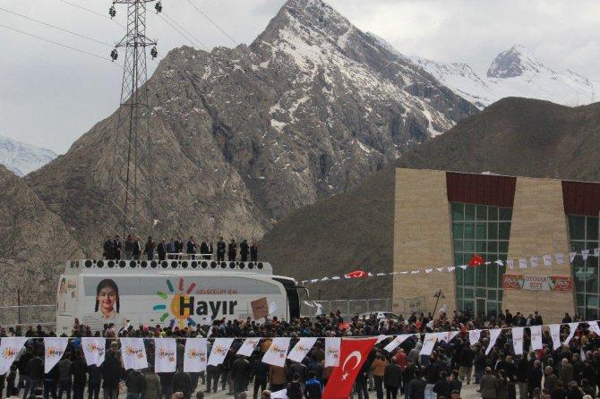 CHP'li Erdem: Hakkâri'de yüzde 90 hayır çıkar