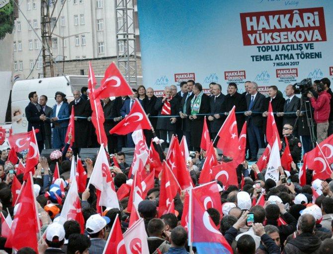 Başbakan Yıldırım Yüksekova'da