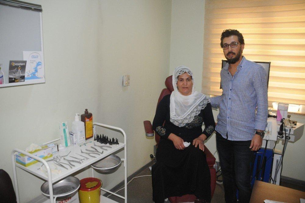 Cizre'de ilk defa kapalı gözyaşı ameliyatı yapıldı