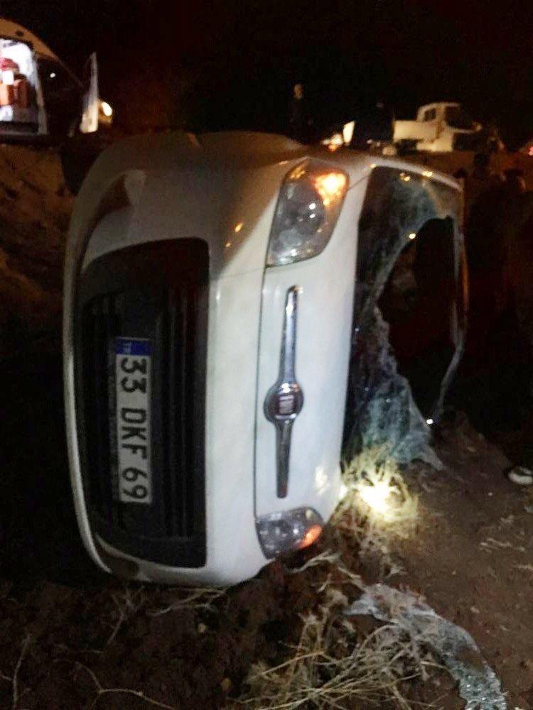 Midyat'ta trafik kazası: 5 yaralı