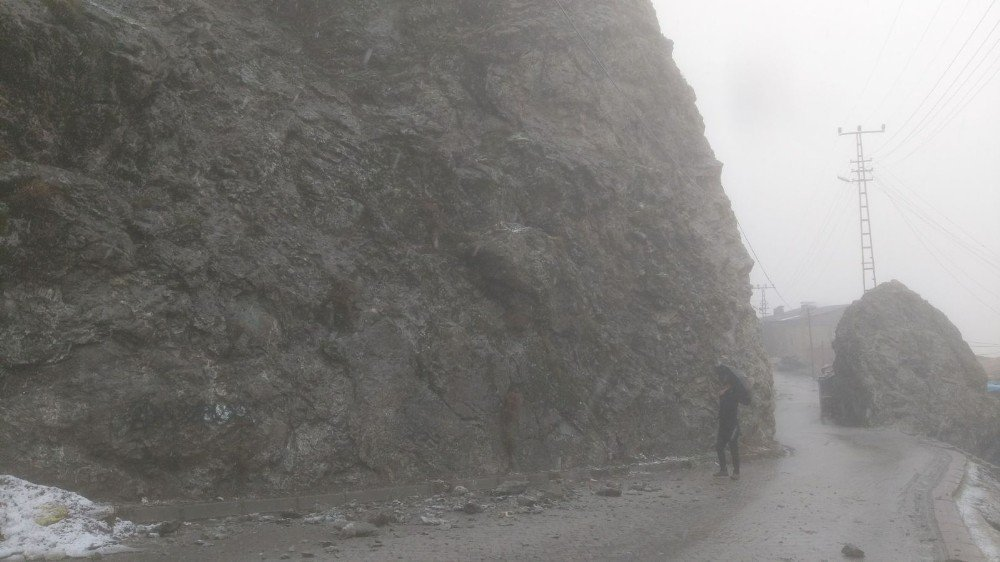 Hakkari Dağgöl Mahallesi büyük tehlike atlattı