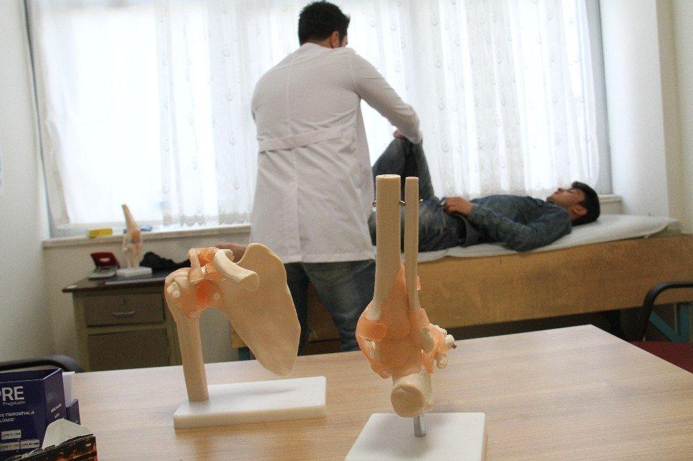 Şemdinli'de ortopedi hastaları artık dışarıya sevk edilmiyor