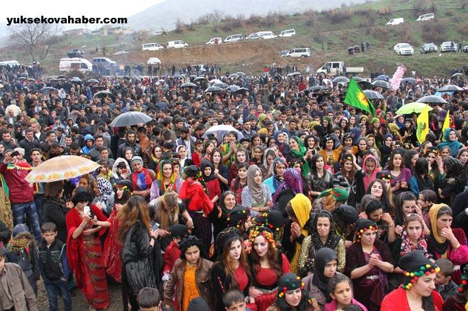 Şemdinli'de Newroz coşkusu