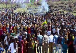 Çukurcalılar Newroz'da doyasıya eğlendi