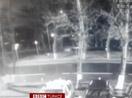 Yolcu uçağının düşüş anı güvenlik kamerasında