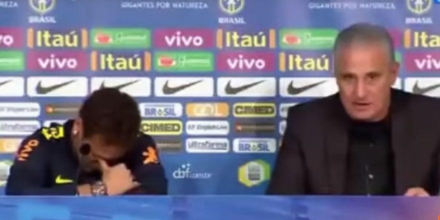 Neymar toplantıyı ağlayarak terk etti