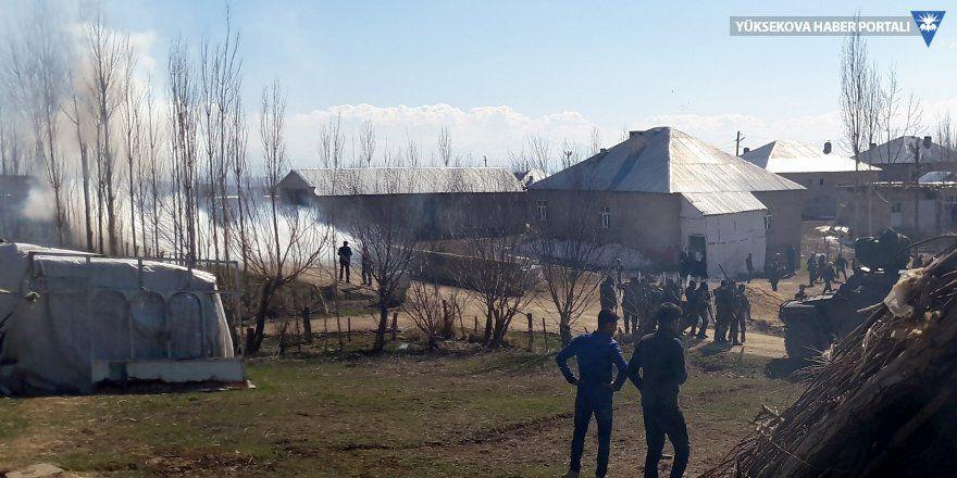 Yüksekova'da sayaç yenileme gerginliği: 3 yaralı
